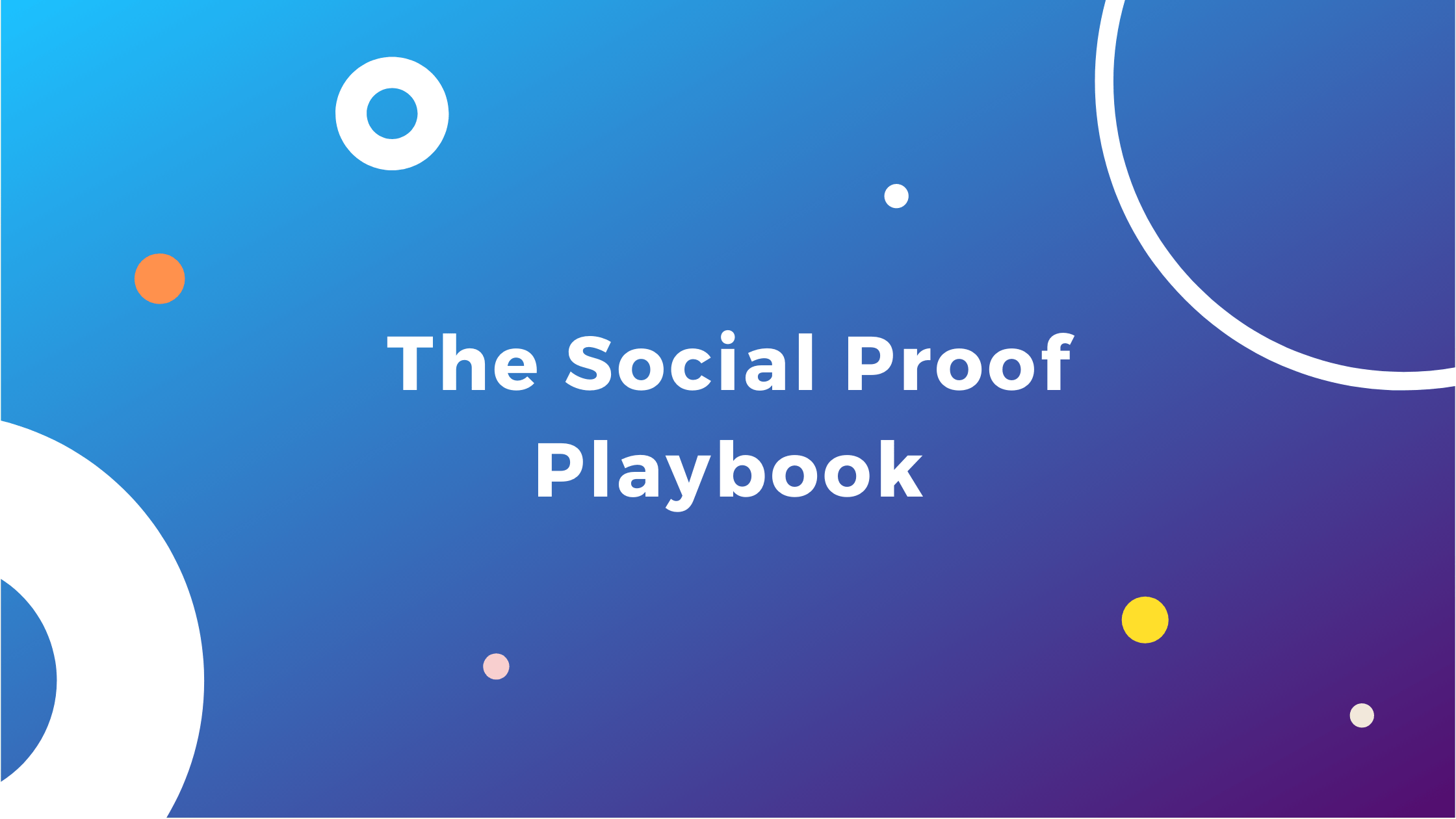 Social Proof Playbook