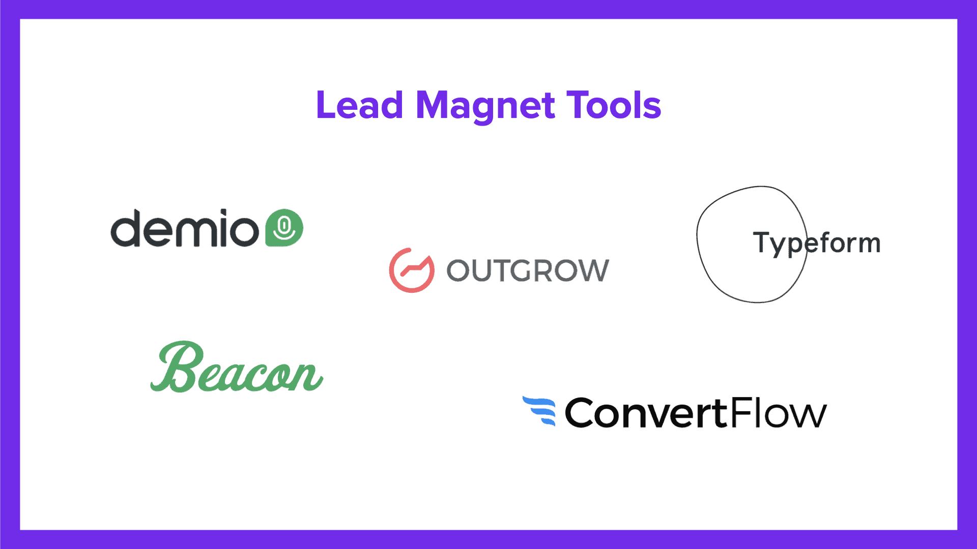 lead magnet tools